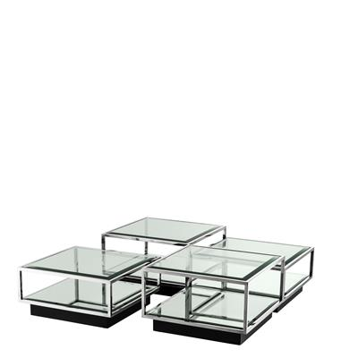 Коктейльный стол EICHHOLTZ Coffee Table Tortona set of 4  арт 111074: фото 2