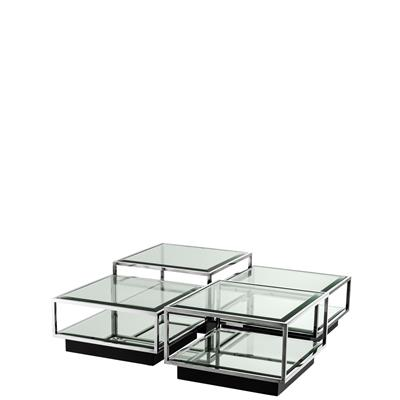 Коктейльный стол EICHHOLTZ Coffee Table Tortona set of 4  арт 111074: фото 3