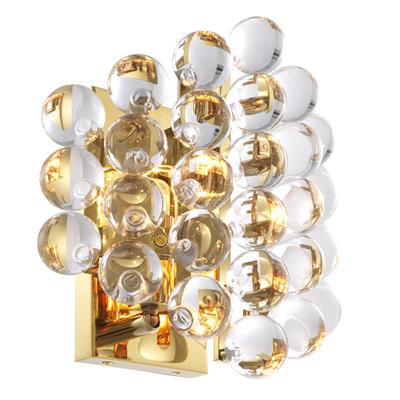 Бра EICHHOLTZ Wall Lamp Mylo Gold арт 111981 : фото 2