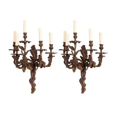Бра EICHHOLTZ Wall Lamp Pompadour set of 2 арт 107273: фото 1