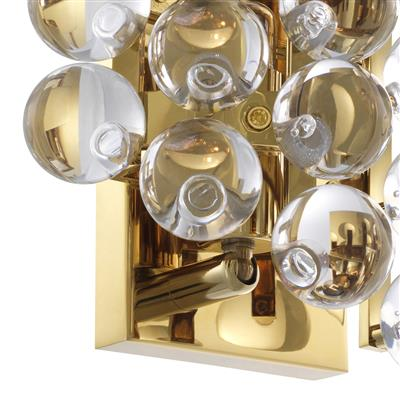 Бра EICHHOLTZ Wall Lamp Mylo Gold арт 111981 : фото 4
