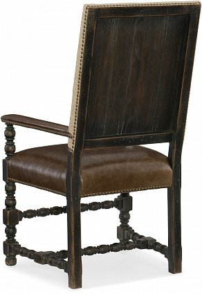 Полукресло HOOKER FURNITURE HILL COUNTRY UPHOLSTERED ARM арт 5960-75400-BLK: фото 2