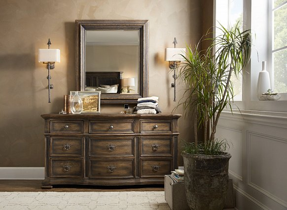 Зеркало HOOKER FURNITURE HILL COUNTRY MICO MIRROR арт 5960-90004-BLK: фото 2