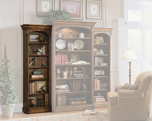 Шкаф HOOKER FURNITURE BROOKHAVEN SIDE BOOKCASE HOME арт 281-10-541: фото 1