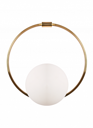 Бра HEATHFIELD&Co VEIL WALL LIGHT арт WL-VEIL-SBRS-OPAL: фото 1
