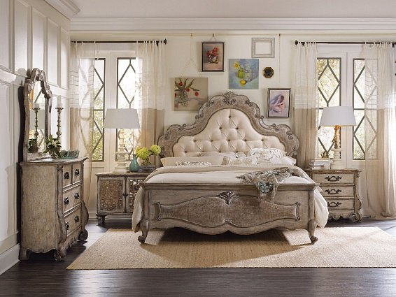 Кровать HOOKER FURNITURE CHATELET KING PANEL BED арт 5450-90866: фото 4