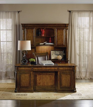 Шкаф HOOKER FURNITURE TYNECASTLE COMPUTER CREDENZA HUTCH арт 5323-10467: фото 4
