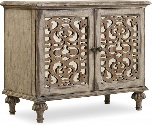 Прикроватная тумба HOOKER FURNITURE CHATELET TWO-DOOR NIGHTSTAND арт 5351-90015: фото 1