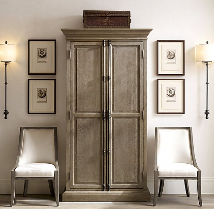 Бра Restoration Hardware ALSACE ARCH RAILING SCONCE арт 68450408: фото 4